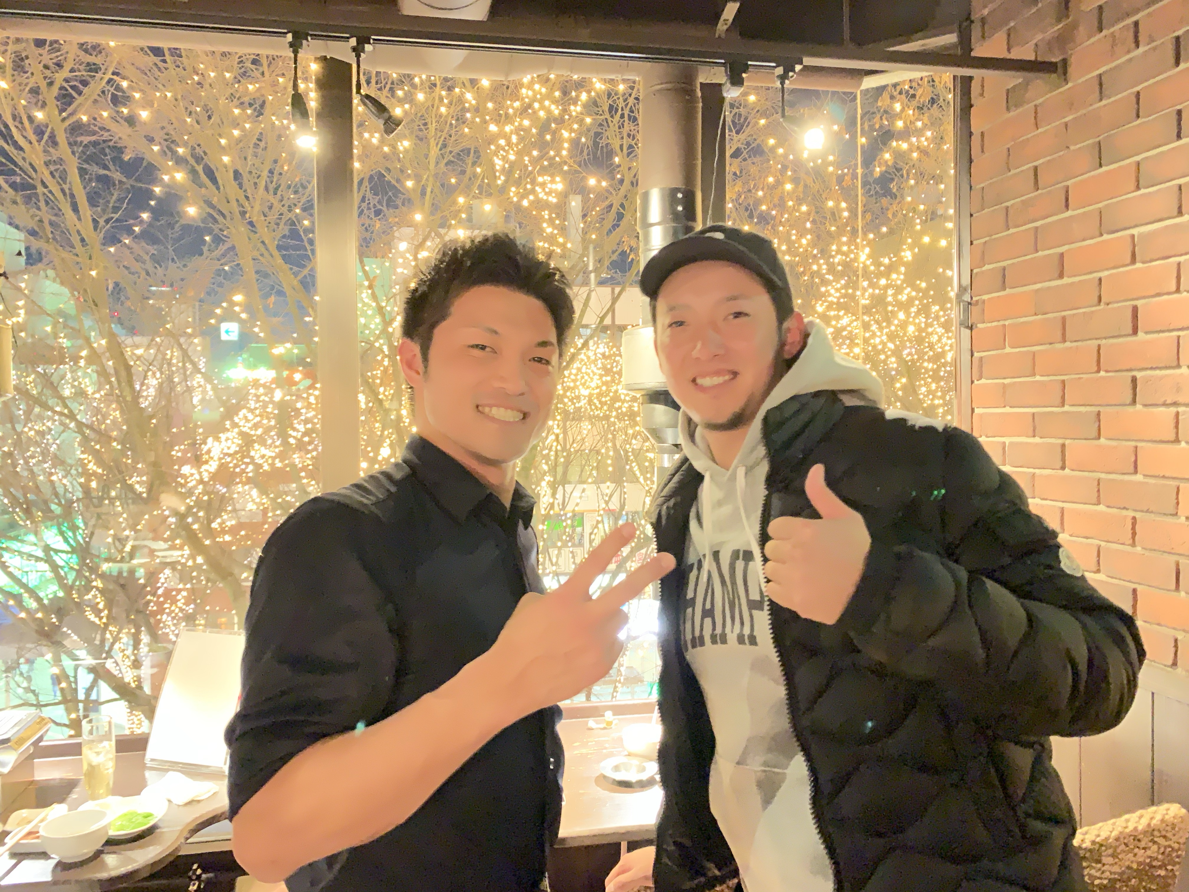img 4837 - 元楽天の横山貴明選手がご来店